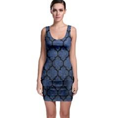 TIL1 BK-MRBL BL-STONE (R) Sleeveless Bodycon Dress
