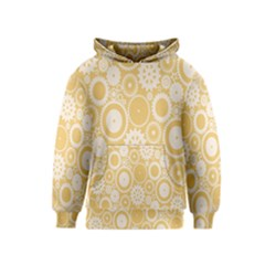 Wheels Star Gold Circle Yellow Kids  Pullover Hoodie