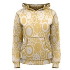Wheels Star Gold Circle Yellow Women s Pullover Hoodie