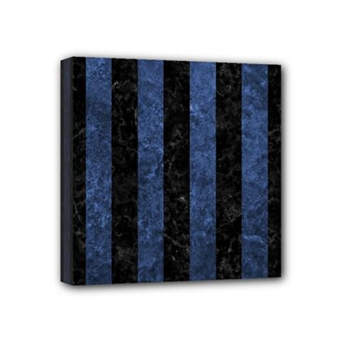STR1 BK-MRBL BL-STONE Mini Canvas 4  x 4