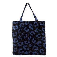 SKN5 BK-MRBL BL-STONE (R) Grocery Tote Bag