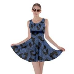 SKN5 BK-MRBL BL-STONE Skater Dress