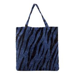 SKN3 BK-MRBL BL-STONE (R) Grocery Tote Bag