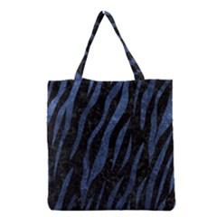 SKN3 BK-MRBL BL-STONE Grocery Tote Bag