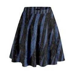 SKN3 BK-MRBL BL-STONE High Waist Skirt