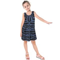 SKN2 BK-MRBL BL-STONE Kids  Sleeveless Dress