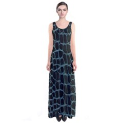 Fabric Fake Fashion Flexibility Grained Layer Leather Luxury Macro Material Natural Nature Quality R Sleeveless Maxi Dress