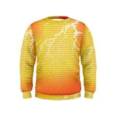 Exotic Backgrounds Kids  Sweatshirt