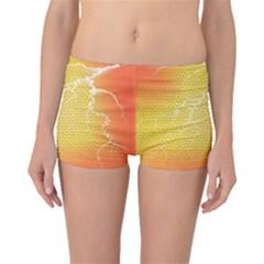 Exotic Backgrounds Boyleg Bikini Bottoms