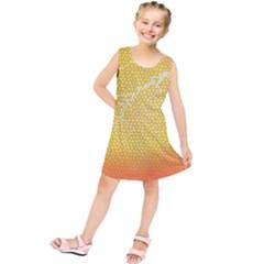 Exotic Backgrounds Kids  Tunic Dress