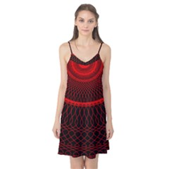 Red Spiral Featured Camis Nightgown