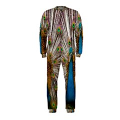 Indian Peacock Plumage Onepiece Jumpsuit (kids)