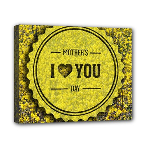 Happy Mother Day Canvas 10  x 8