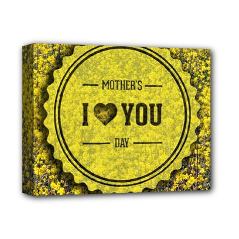 Happy Mother Day Deluxe Canvas 14  x 11