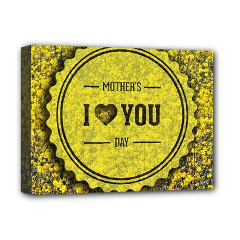 Happy Mother Day Deluxe Canvas 16  x 12