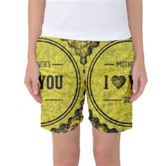 Happy Mother Day Women s Basketball Shorts