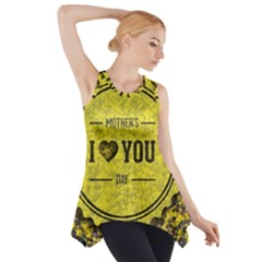 Happy Mother Day Side Drop Tank Tunic