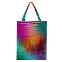 Colourful Weave Background Classic Tote Bag