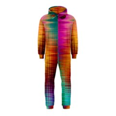 Colourful Weave Background Hooded Jumpsuit (Kids)