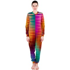 Colourful Weave Background Onepiece Jumpsuit (ladies)