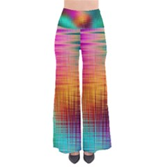 Colourful Weave Background Pants