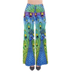 Peacock Bird Animation Pants