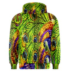 Peacock Feathers Men s Zipper Hoodie