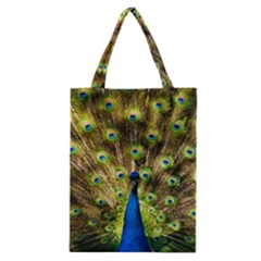 Peacock Bird Classic Tote Bag