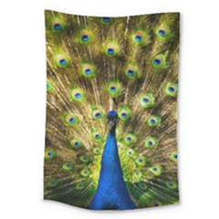 Peacock Bird Large Tapestry