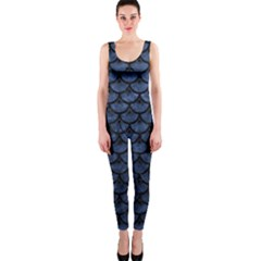 SCA3 BK-MRBL BL-STONE (R) OnePiece Catsuit