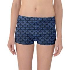 SCA3 BK-MRBL BL-STONE (R) Reversible Bikini Bottoms