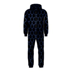 SCA1 BK-MRBL BL-STONE Hooded Jumpsuit (Kids)