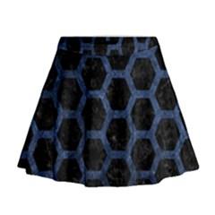 HXG2 BK-MRBL BL-STONE Mini Flare Skirt