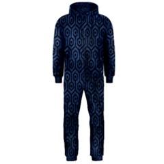 HXG1 BK-MRBL BL-STONE (R) Hooded Jumpsuit (Men)