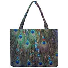 Peacock Jewelery Mini Tote Bag