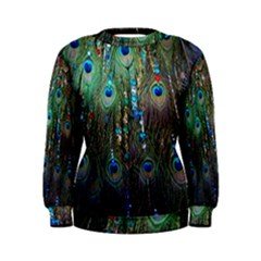 Peacock Jewelery Women s Sweatshirt