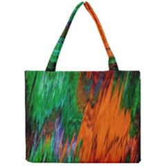 Watercolor Grunge Background Mini Tote Bag