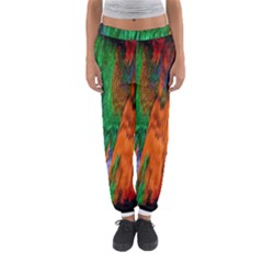 Watercolor Grunge Background Women s Jogger Sweatpants