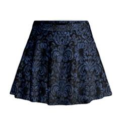 DMS2 BK-MRBL BL-STONE Mini Flare Skirt