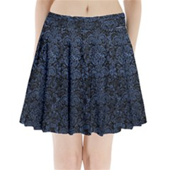 DMS2 BK-MRBL BL-STONE Pleated Mini Skirt