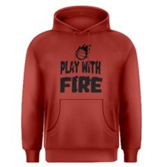 Play With Fire Basketball   Men s Pullover Hoodie