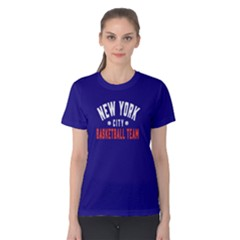 New York City Basketball Team   Women s Cotton Tee