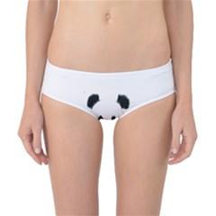 Panda Love Heart Classic Bikini Bottoms