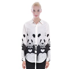 Panda Love Heart Shirts