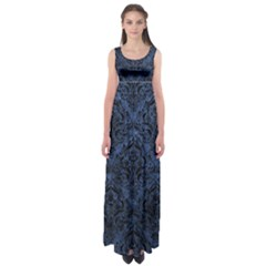 DMS1 BK-MRBL BL-STONE (R) Empire Waist Maxi Dress