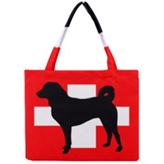 Appenzeller Sennenhund Silo Switzerland Flag Mini Tote Bag