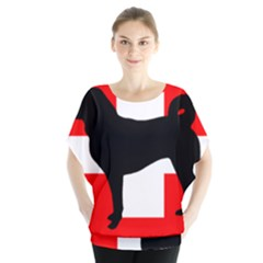 Appenzeller Sennenhund Silo Switzerland Flag Blouse