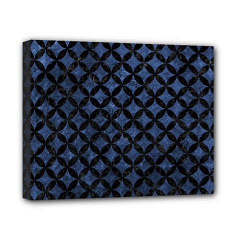 CIR3 BK-MRBL BL-STONE (R) Canvas 10  x 8