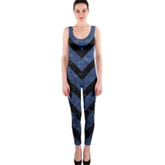 CHV9 BK-MRBL BL-STONE (R) OnePiece Catsuit