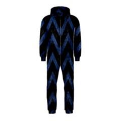 CHV9 BK-MRBL BL-STONE Hooded Jumpsuit (Kids)